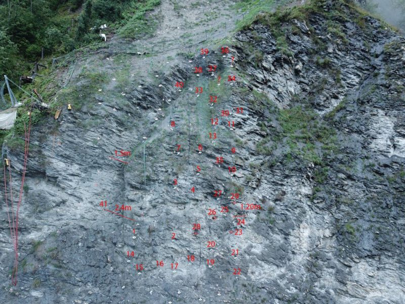 Felskluft- Und Sprengüberwachung Peiden Bad